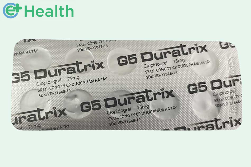 Lưu ý - thận trọng khi sử dụng G5 Duratrix