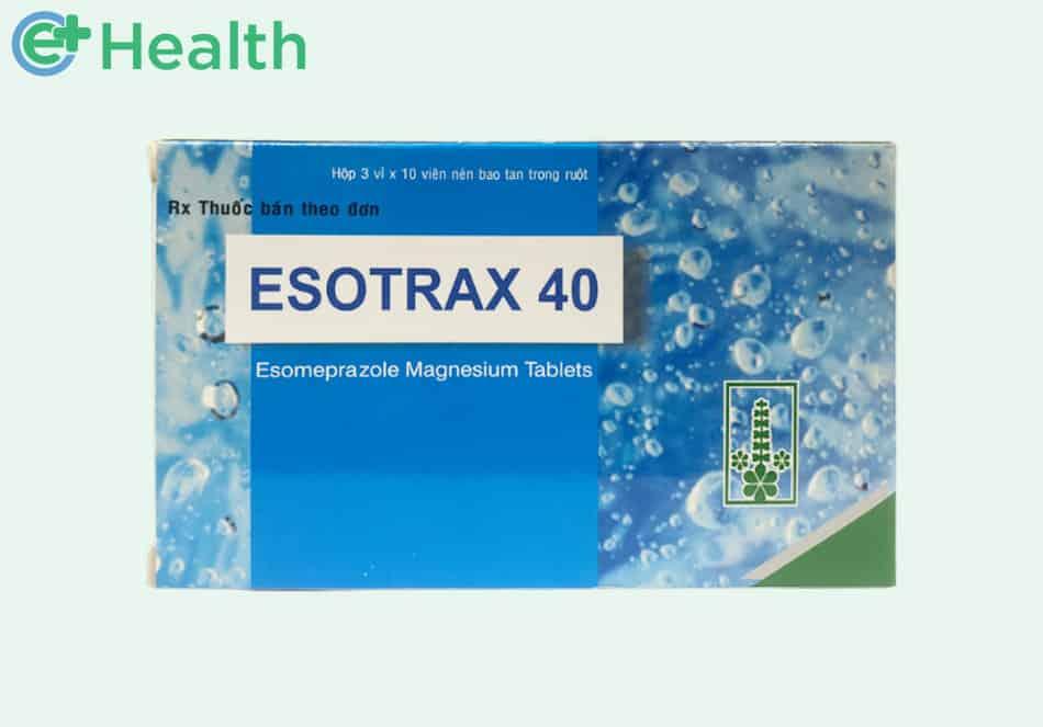 Thuốc Esotrax 40