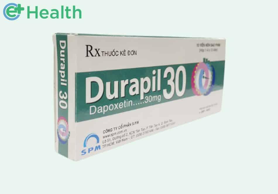Hình ảnh hộp thuốc Durapil 30