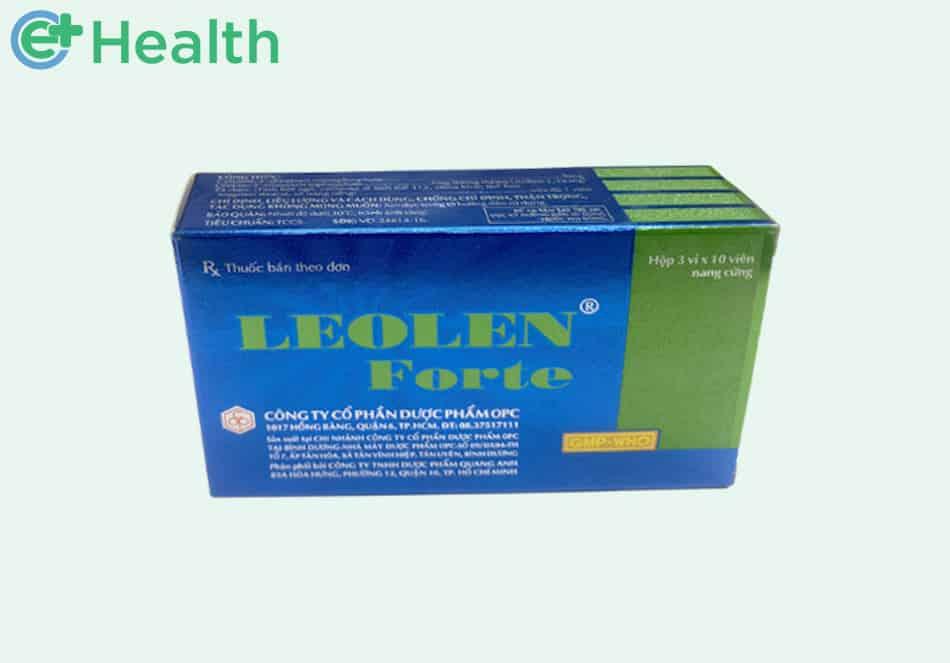 Hình ảnh hộp thuốc Leolen Forte 30 viên