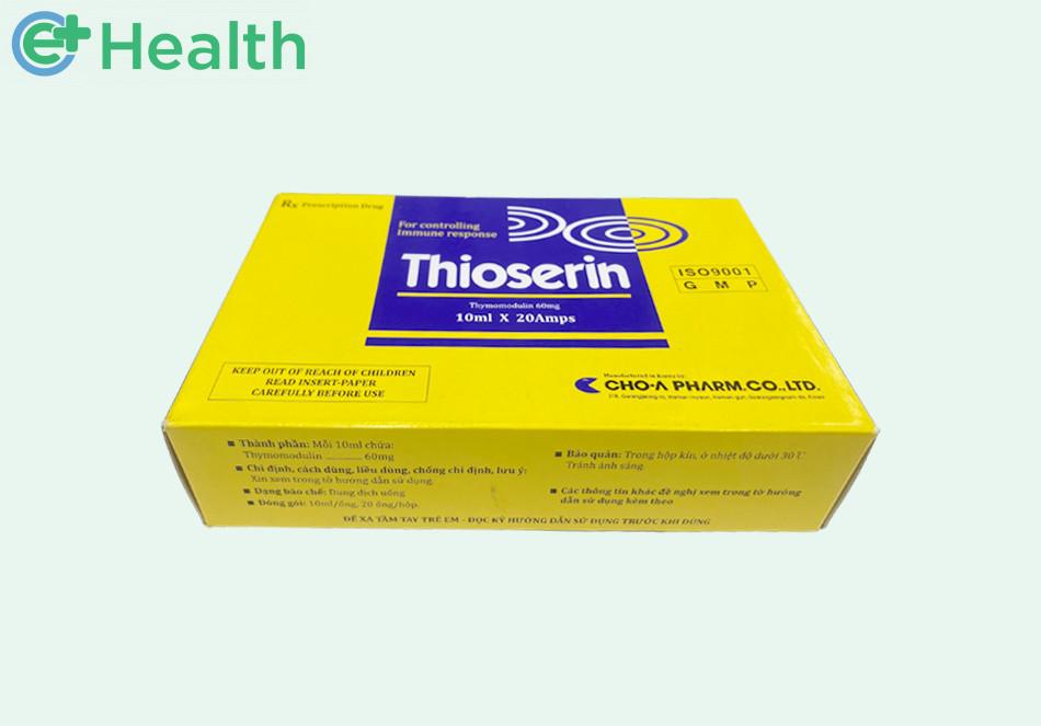 Hình ảnh hộp thuốc Thioserin
