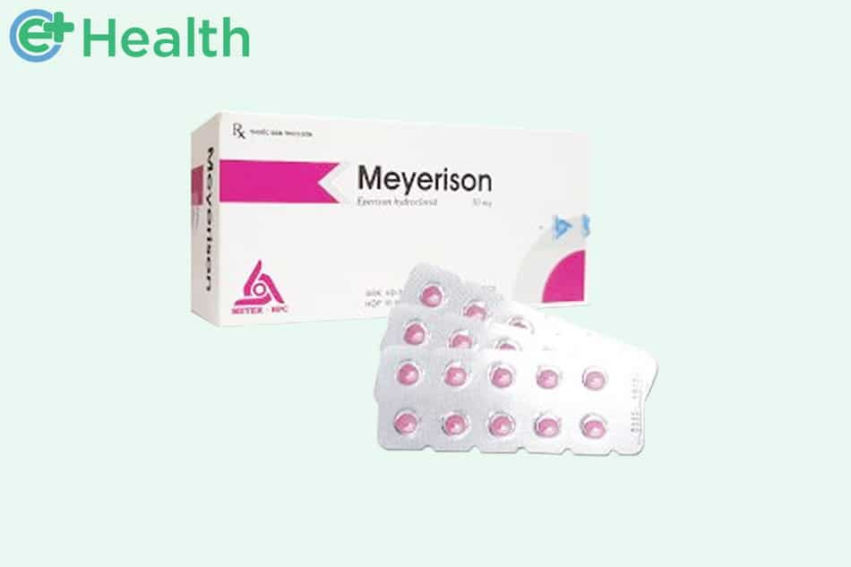 Hộp và vỉ Meyerison 50 mg
