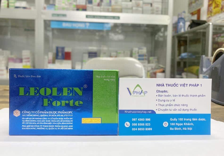 Mua thuốc Leolen Forte chính hãng tại nhà thuốc Việt Pháp 1