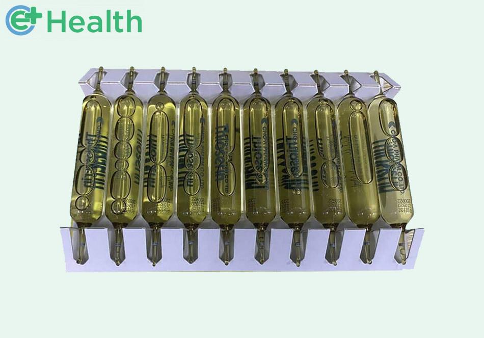 Hình ảnh ống thuốc Thioserin 60mg/10ml