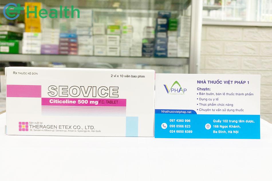 Thuốc Seovice được bán tại Nhà thuốc Việt Pháp 1