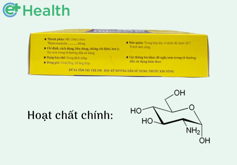 Thành phần của thuốc Thioserin 60mg/10ml