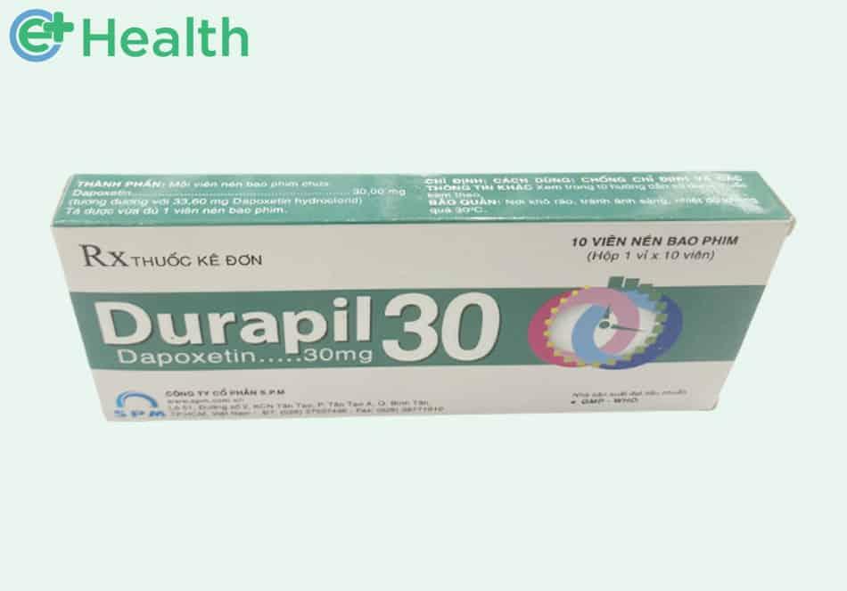 Hộp 10 viên thuốc Durapil 30