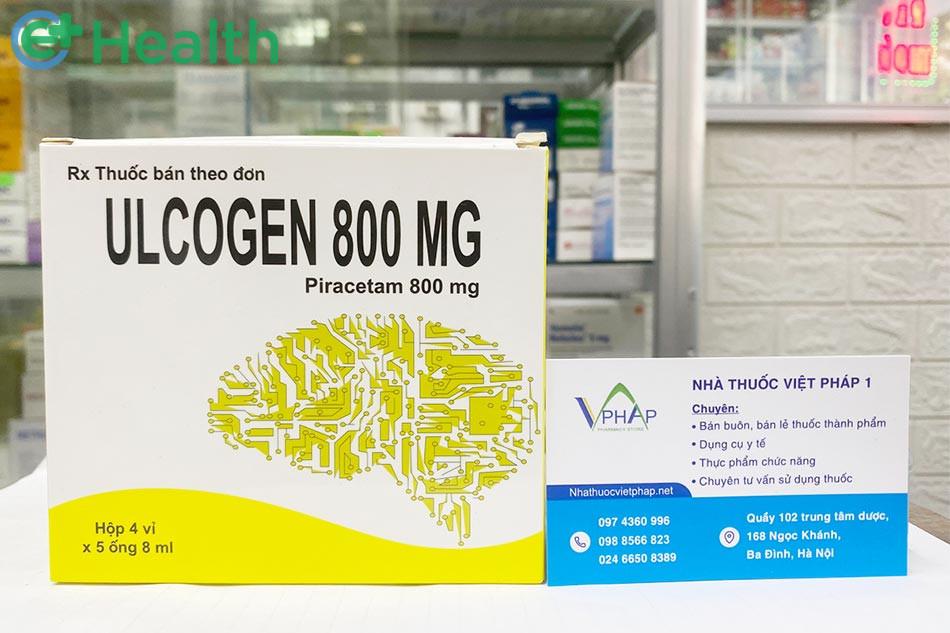 Thuốc Ulcogen 800mg bán tại Nhà thuốc Việt Pháp 1